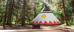 Sundance Lodges Tepees