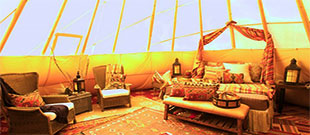 Nevada glamping - Mustang Monument Tipis
